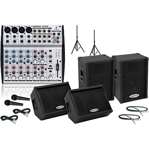 Kustom PA KPC15P / UB1202 Mains & Monitors Package