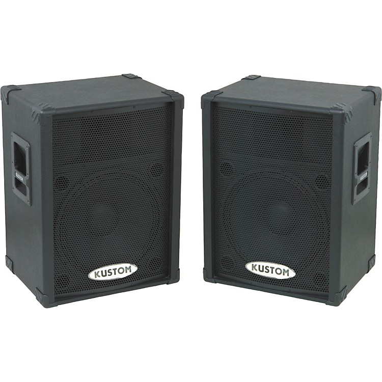 Kustom KPC15P Powered Speaker Pair