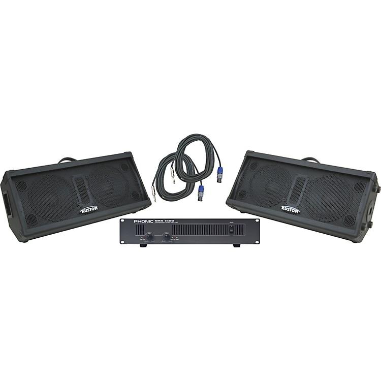 KustomKPC210M / Phonic MAX 1600 Spr & Amp Package