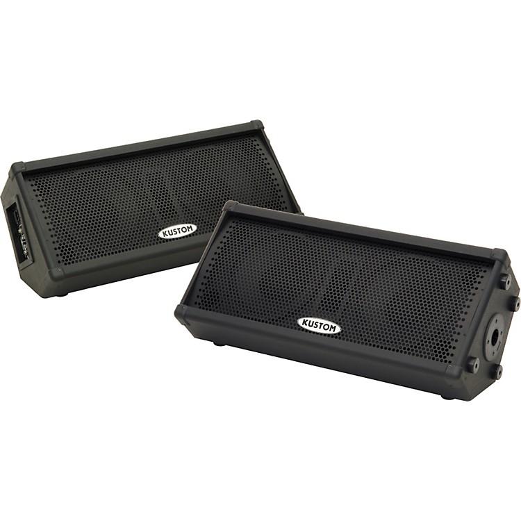 KustomKPC210MP Powered Speaker Pair