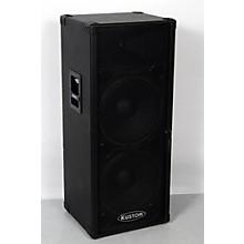 """Kustom KPC215H 2x15"""" PA Speaker Cabinet with Horn Level 3 Regular 888365957005"""