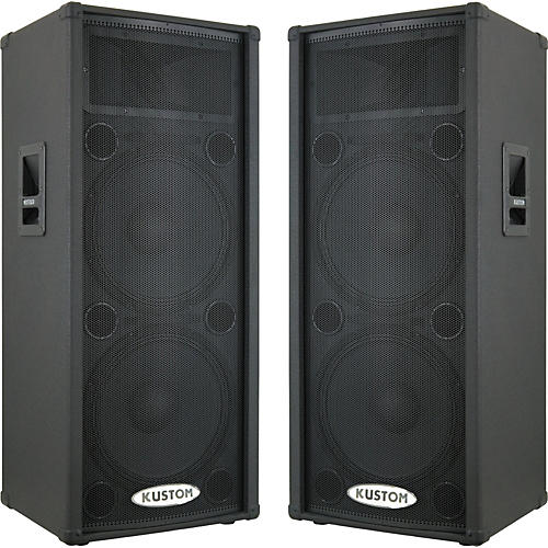 Kustom KPC215HP Powered Speaker Pair