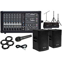 """Kustom PA KPX112 12"""" with Phonic Powerpod 780 Mains and 12"""" Monitors Package"""