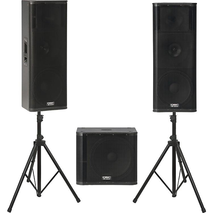 QSCKW153 /  KW181 Powered Speaker Package
