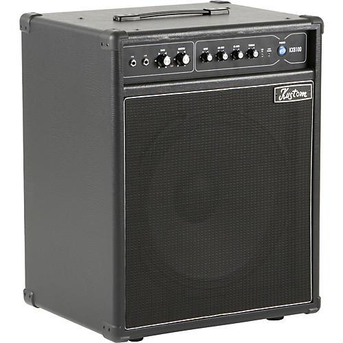 Kustom KXB100 100W 1x15 Bass Combo Amp Black