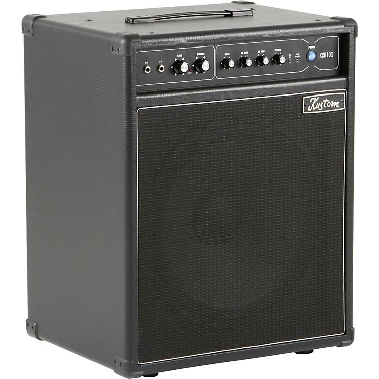 KustomKXB100 100W 1x15 Bass Combo AmpBlack
