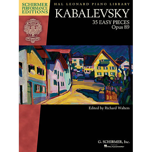G. Schirmer Kabalevsky - 35 Easy Pieces, Op. 89 for Piano Schirmer Performance Editions Softcover-thumbnail