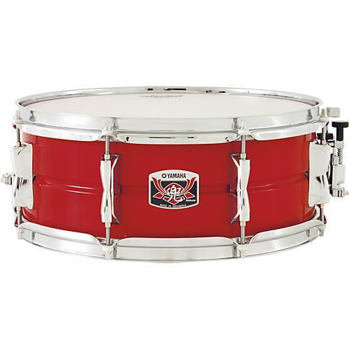 Yamaha kabuto steel snare drum musician 39 s friend for Yamaha stage custom steel snare drum 14x6 5
