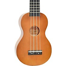 Mahalo Kahiko Plus Series Soprano Ukulele Natural