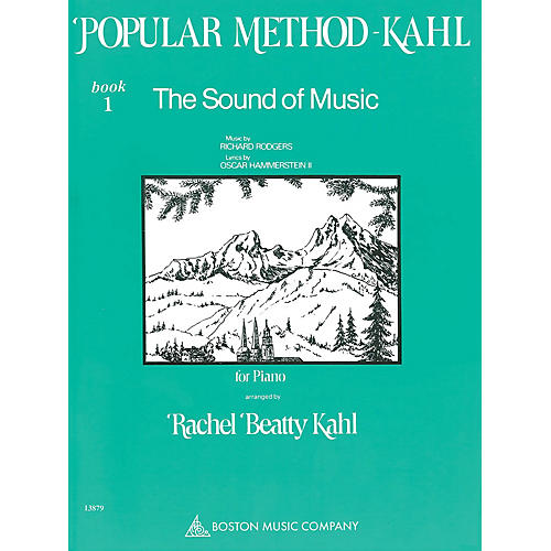 Music Sales Kahl Popular Method: Book 1 - The Sound of Music Music Sales America Series Softcover by Richard Rodgers-thumbnail
