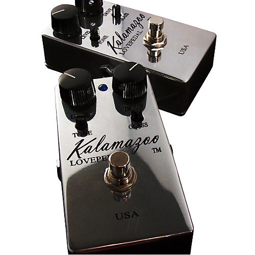 Lovepedal Kalamazoo Overdrive Guitar Effects Pedal