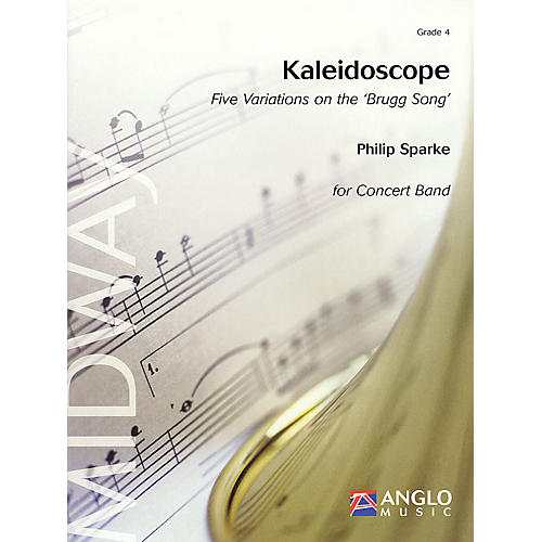 Anglo Music Press Kaleidoscope (Grade 4 - Score Only) Concert Band Level 4 Composed by Philip Sparke-thumbnail