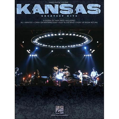 Hal Leonard Kansas Greatest Hits arranged for piano, vocal, and guitar (P/V/G)