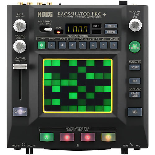 Korg Kaossilator Pro+ Dynamic Phrase Synthesizer/Loop Recorder-thumbnail