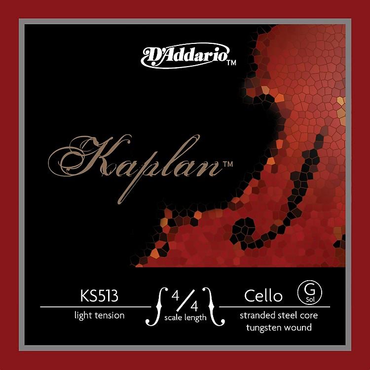 D'AddarioKaplan 4/4 Size Light Cello Strings4/4 SizeG String