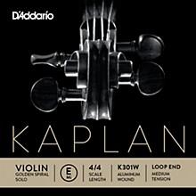 D'Addario Kaplan Golden Spiral Solo Wound Series Violin E String