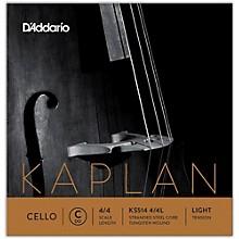 D'Addario Kaplan Series Cello C String 4/4 Size Light