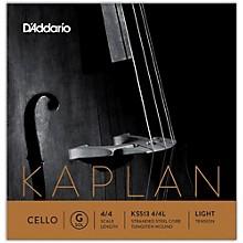 D'Addario Kaplan Series Cello G String 4/4 Size Light