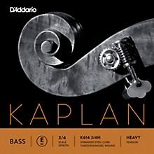 D'Addario Kaplan Series Double Bass E String 3/4 Size Heavy