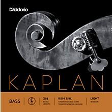 D'Addario Kaplan Series Double Bass E String 3/4 Size Light