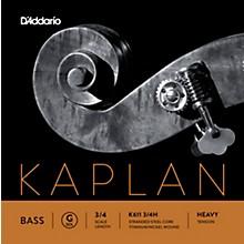 D'Addario Kaplan Series Double Bass G String 3/4 Size Heavy