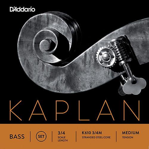 D'Addario Kaplan Series Double Bass String Set 3/4 Size Medium