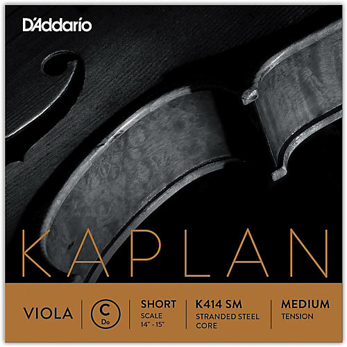 D'Addario Kaplan Series Viola C String 13-14 Short Scale