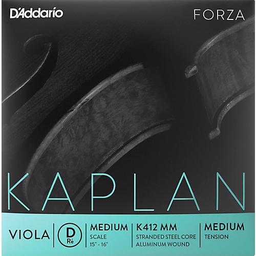 D'Addario Kaplan Series Viola D String 15+ Medium Scale