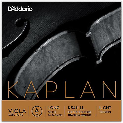 D'Addario Kaplan Solutions Series Viola A String 16+ Long Scale Light
