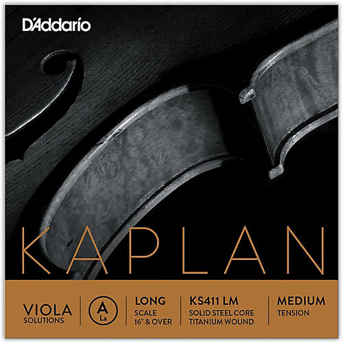 D'Addario Kaplan Solutions Series Viola A String-thumbnail