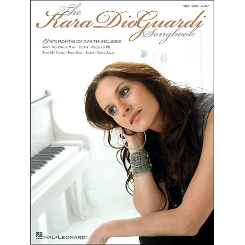 Hal Leonard Kara Dioguardi Songbook arranged for piano, vocal, and guitar (P/V/G)