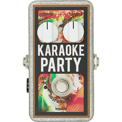 Devi Ever Karaoke Party Overdrive Guitar Effects Pedal-thumbnail