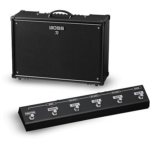 boss katana ktn 100 100w 2x12 guitar combo amplifier with ga fc foot controller musician 39 s friend. Black Bedroom Furniture Sets. Home Design Ideas