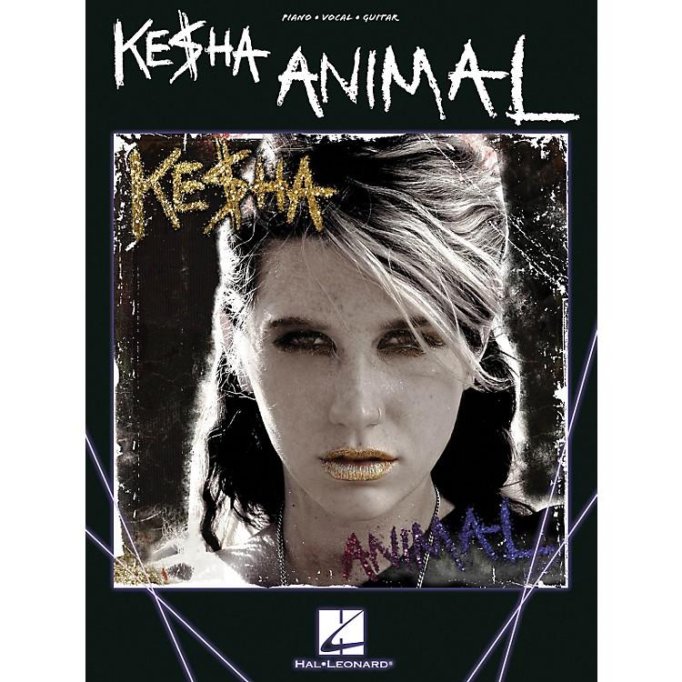Hal LeonardKe$Ha - Animal (Kesha) PVG Songbook