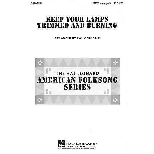 Hal Leonard Keep Your Lamps Trimmed and Burnin' SATB a cappella arranged by Emily Crocker-thumbnail