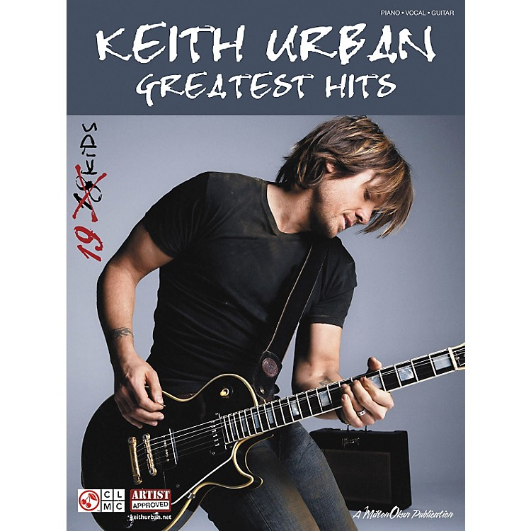 Cherry Lane Keith Urban: Greatest Hits (Piano/Vocal/Guitar Songbook)