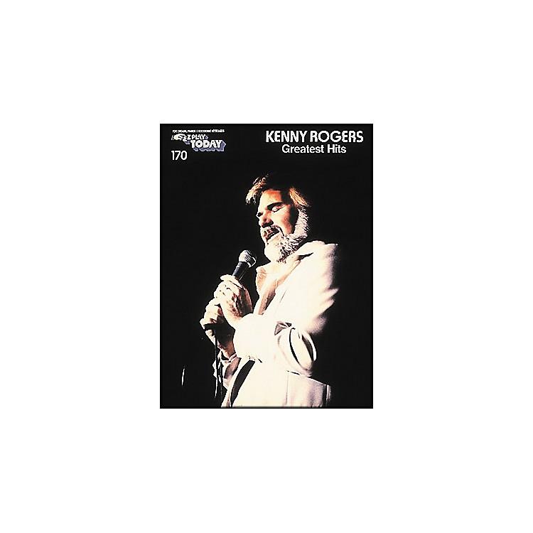 Hal LeonardKenny Rogers Greatest Hits E-Z Play 170