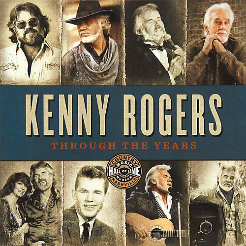 Country Music Hall of Fame Kenny Rogers: Through the Years Book Series Softcover Written by Country Music Hall of Fame-thumbnail