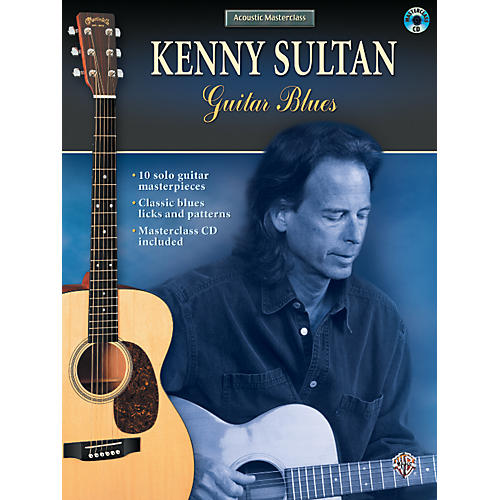 Alfred Kenny Sultan - Guitar Blues (Book/CD)
