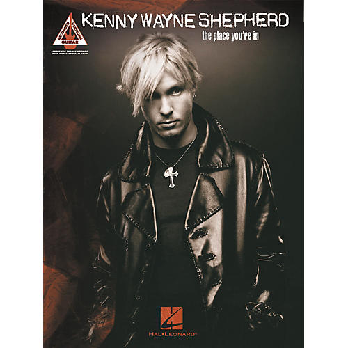Hal Leonard Kenny Wayne Shepherd The Place You're In Guitar Tab Songbook