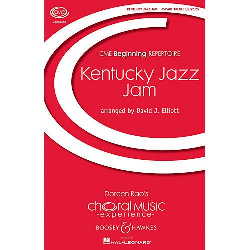 Boosey and Hawkes Kentucky Jazz Jam (CME Beginning) 2PT TREBLE arranged by David Elliott-thumbnail