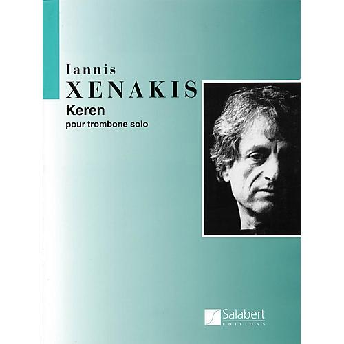 Editions Salabert Keren (Trombone Solo) Instrumental Series Composed by Iannis Xenakis-thumbnail