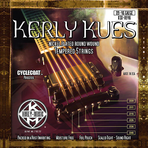Kerly Music Kerly Kues Nickel Wound Electric Guitar Strings - Light Medium-thumbnail