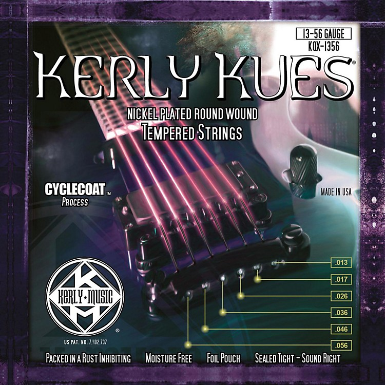 Kerly Music Kerly Kues Nickel Wound Electric Guitar Strings Jazz Heavy