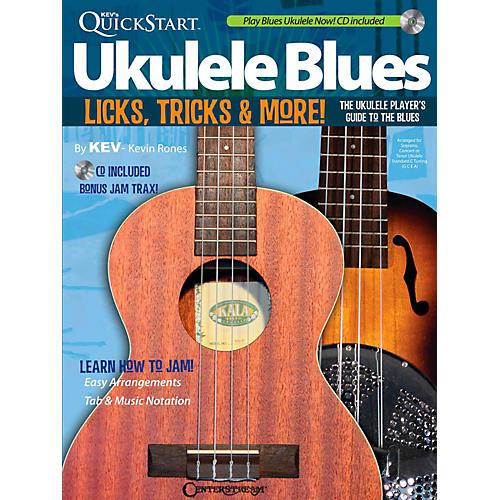 Centerstream Publishing Kev's QuickStart Ukulele Blues Book/CD