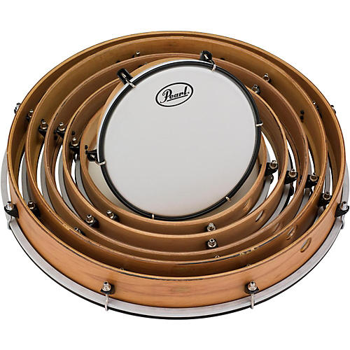 Pearl Key-Tuned Frame Drums Set 8, 10, 12, 14, 16 and 18 in.