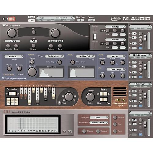 M-Audio KeyRig Virtual Instrument Plug-In