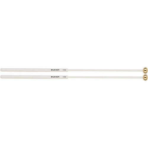 Musser Keyboard Brass Bell Mallets with Two Step Handle - MUS122-thumbnail