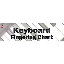 Music Sales Keyboard Fingering Chart Music Sales America Series Softcover Written by Various Authors