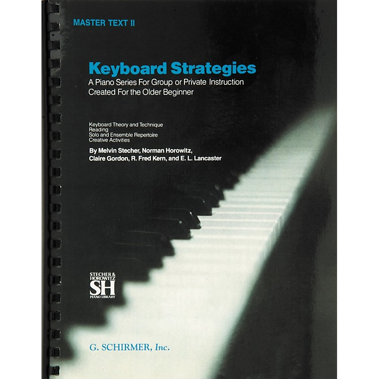 Music Sales Keyboard Strategies Master Text 2